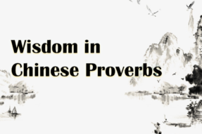 Wisdom in Chinese Proverbs