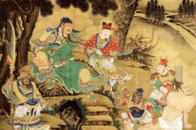 Story of Garan Bodhisattva