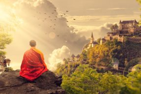 A Miracle of Buddhism Medicine