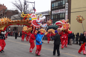 2015 Chinese New Year Parade in New York