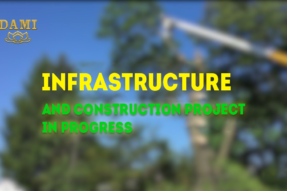Infrastructure and Construction Project in Progress