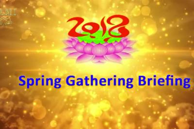 2018 Spring Gathering Briefing