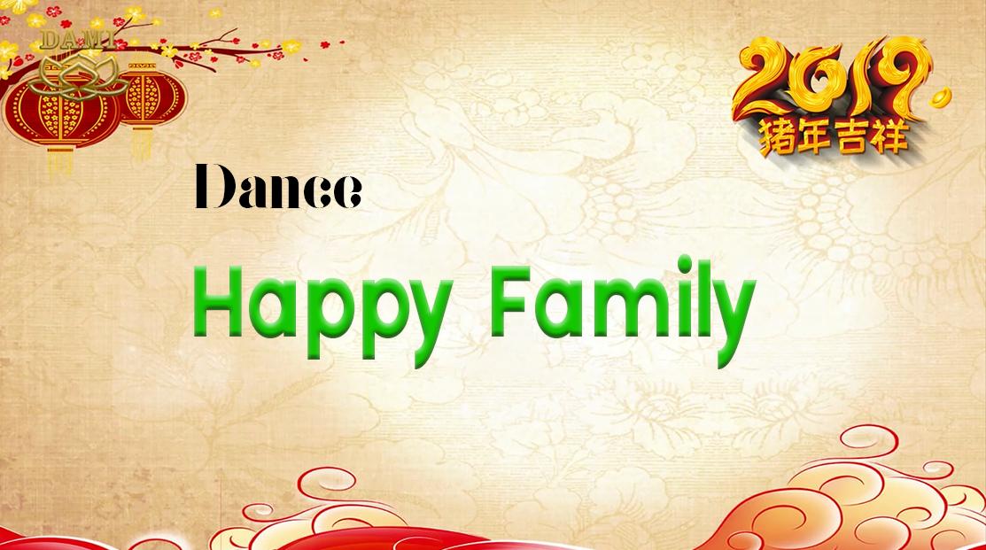 [Dance] Happy Family Photo
